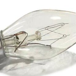 15 Watt Light Bulbs for Himalayan Salt Lamps & Baskets, Chandeliers, Scentsy & Wax Warmers, E12 Base Salt lamp bulb